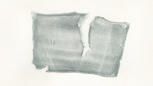 <em>Untitled, #27</em>, from series of 136 successive monoprints made with a single piece of gelatin